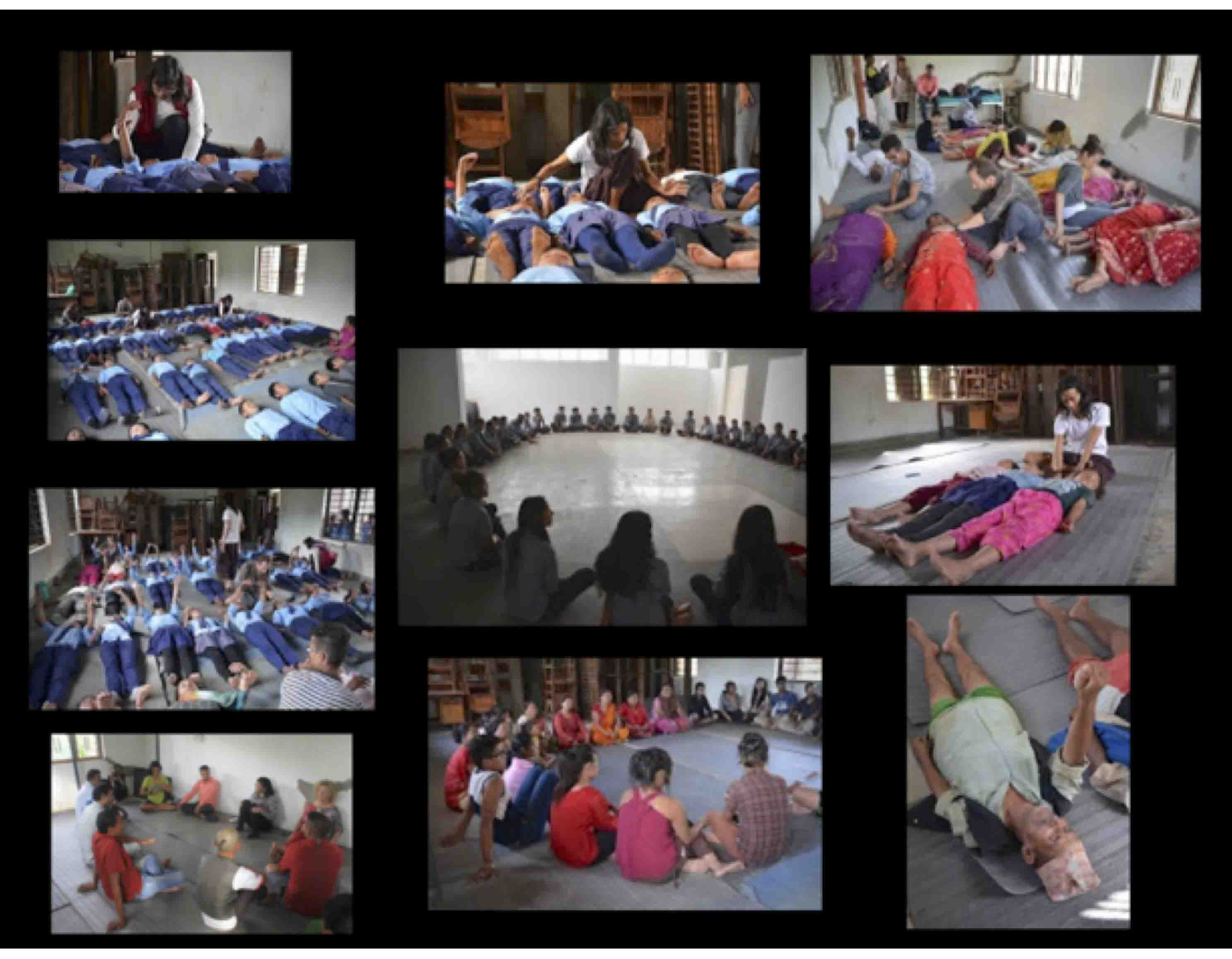 After the Earth-quack April 2015, we at LASANAA / NexUs dedicated our time and  resources to Creative Healing Workshops for different communities in Kathmandu and other  EQ effected areas.